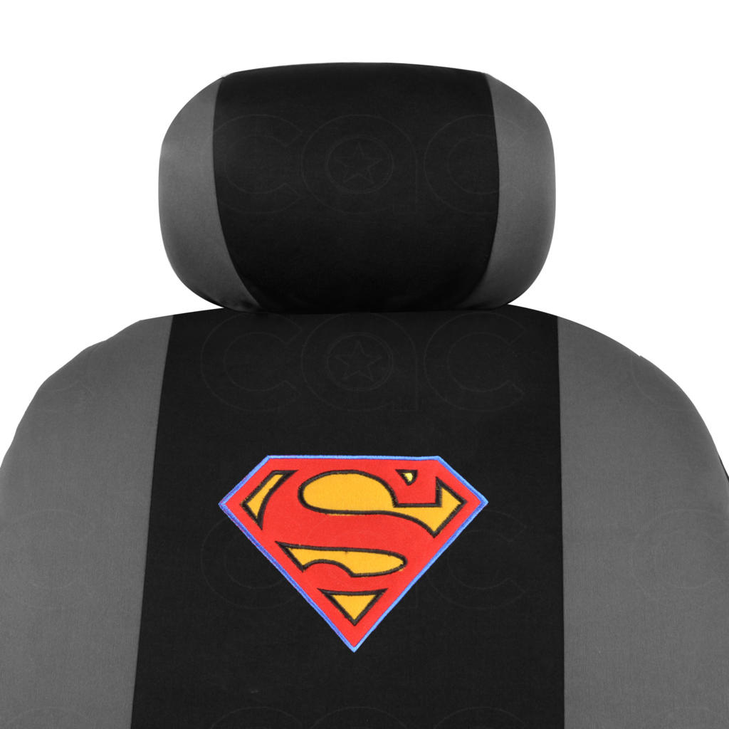 BDK Auto WB DC Comics Superman Auto Accessories Front Seat