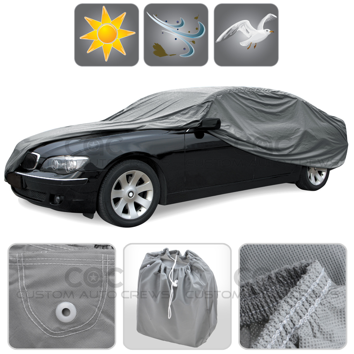 car cover for mazda miata sp sun dust proof breathable auto protection ebay. Black Bedroom Furniture Sets. Home Design Ideas