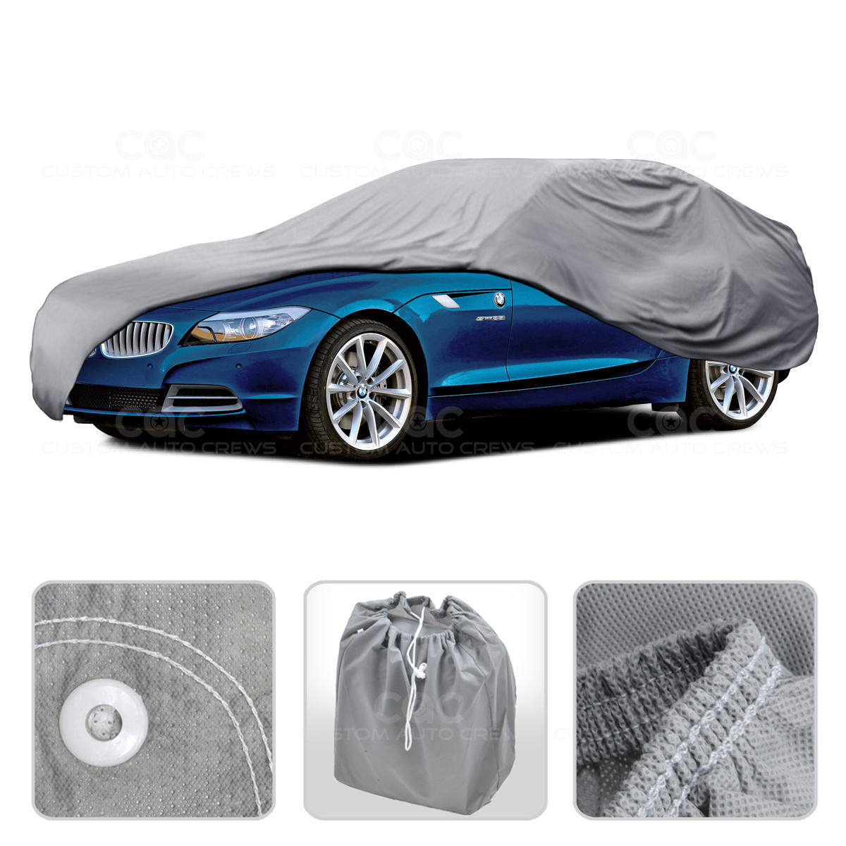 Car Cover For Bmw Z1 Z3 Z4 Z8 Outdoor Breathable Sun Dust