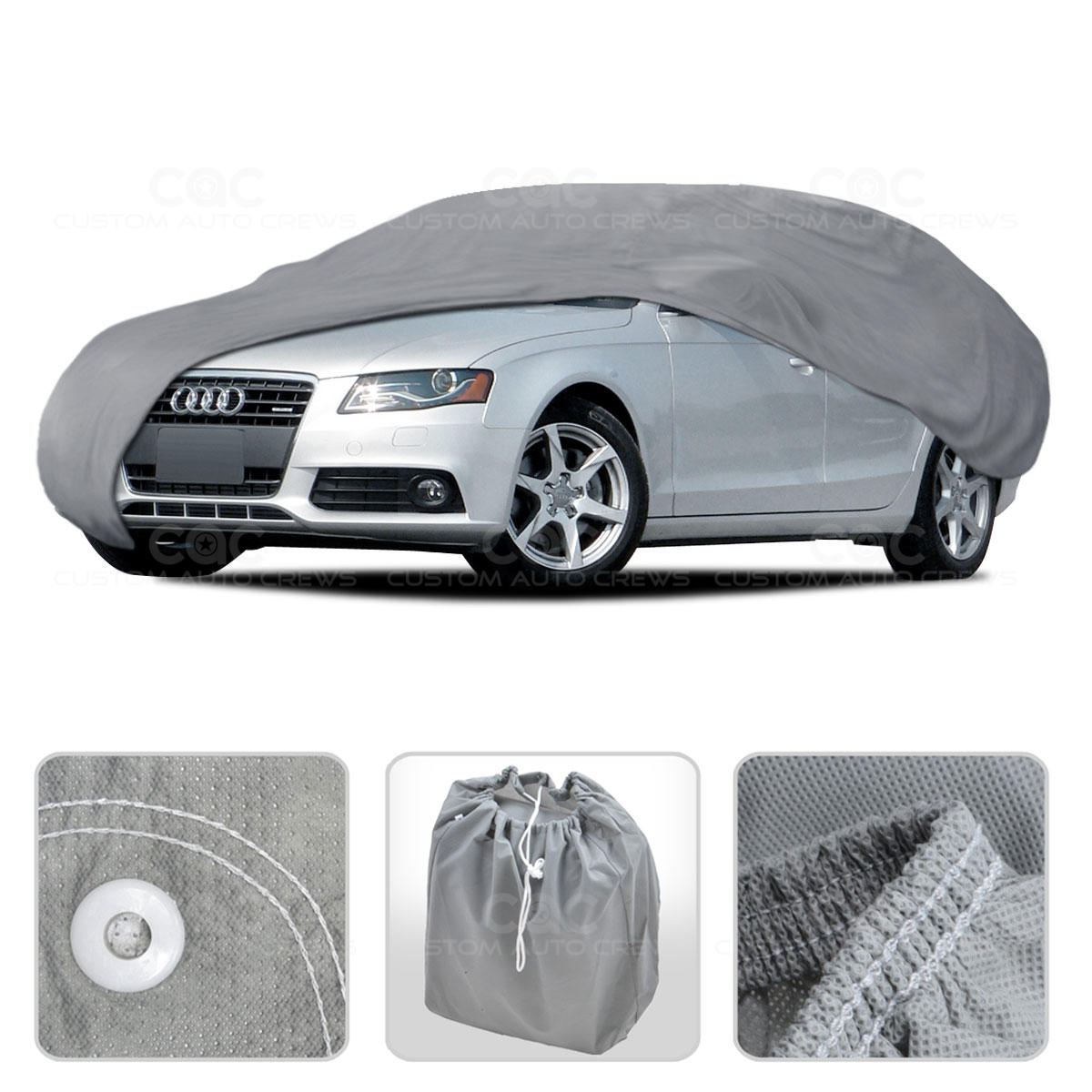 Car Cover For Audi A4 91 14 Outdoor Breathable Sun Dust