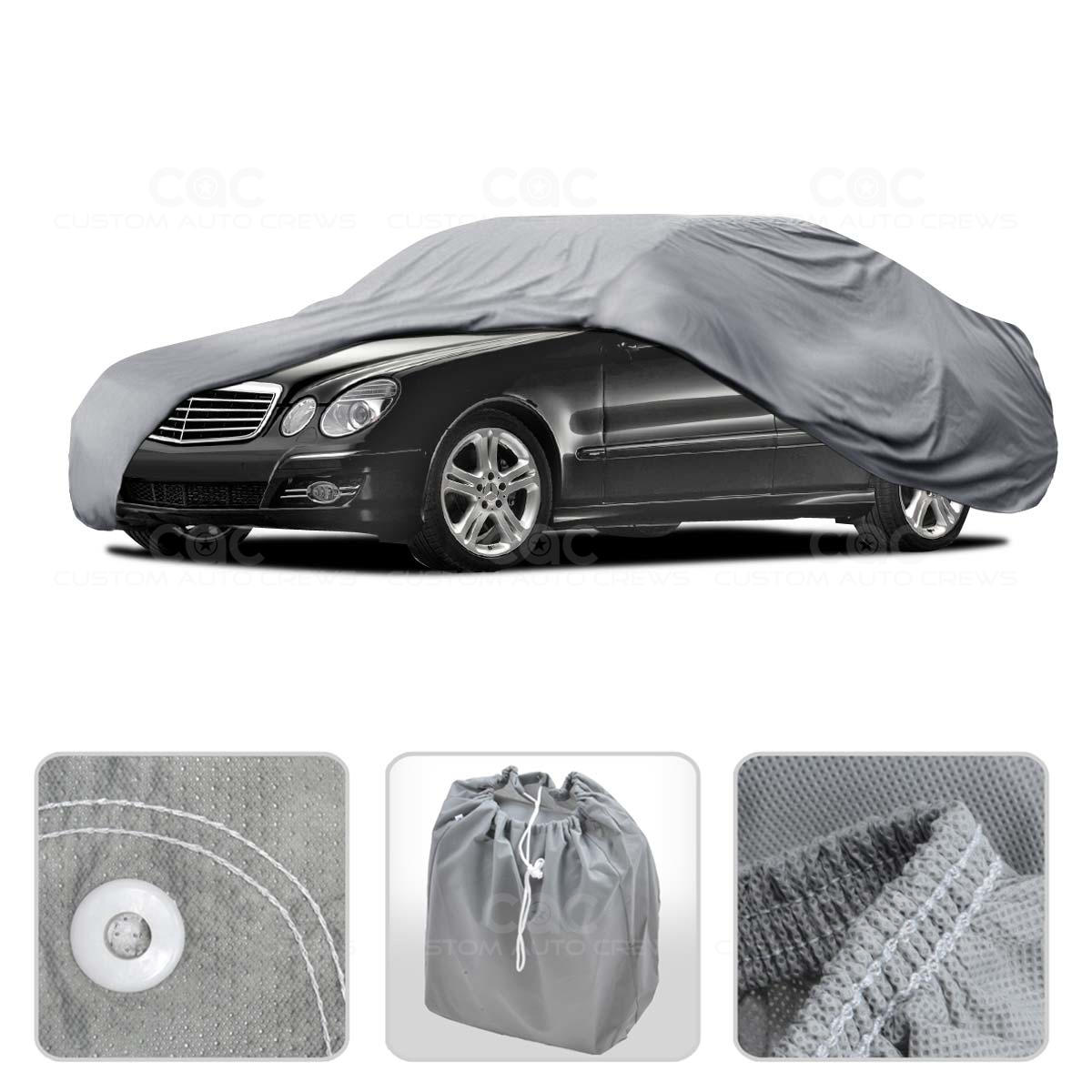Car cover for mercedes e class outdoor breathable sun dust for Mercedes benz e350 car cover