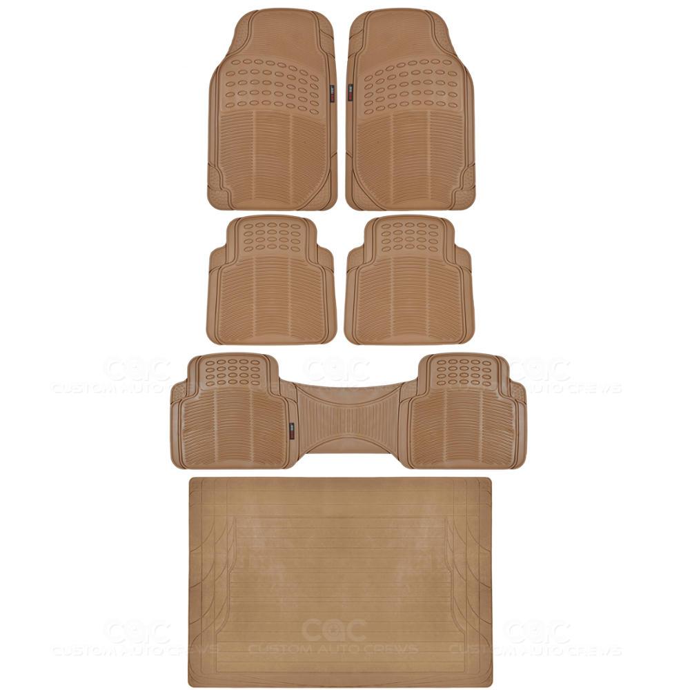 Rubber floor mats suv - Image Is Loading Odorless Eco Tech Rubber Floor Mats Van Suv