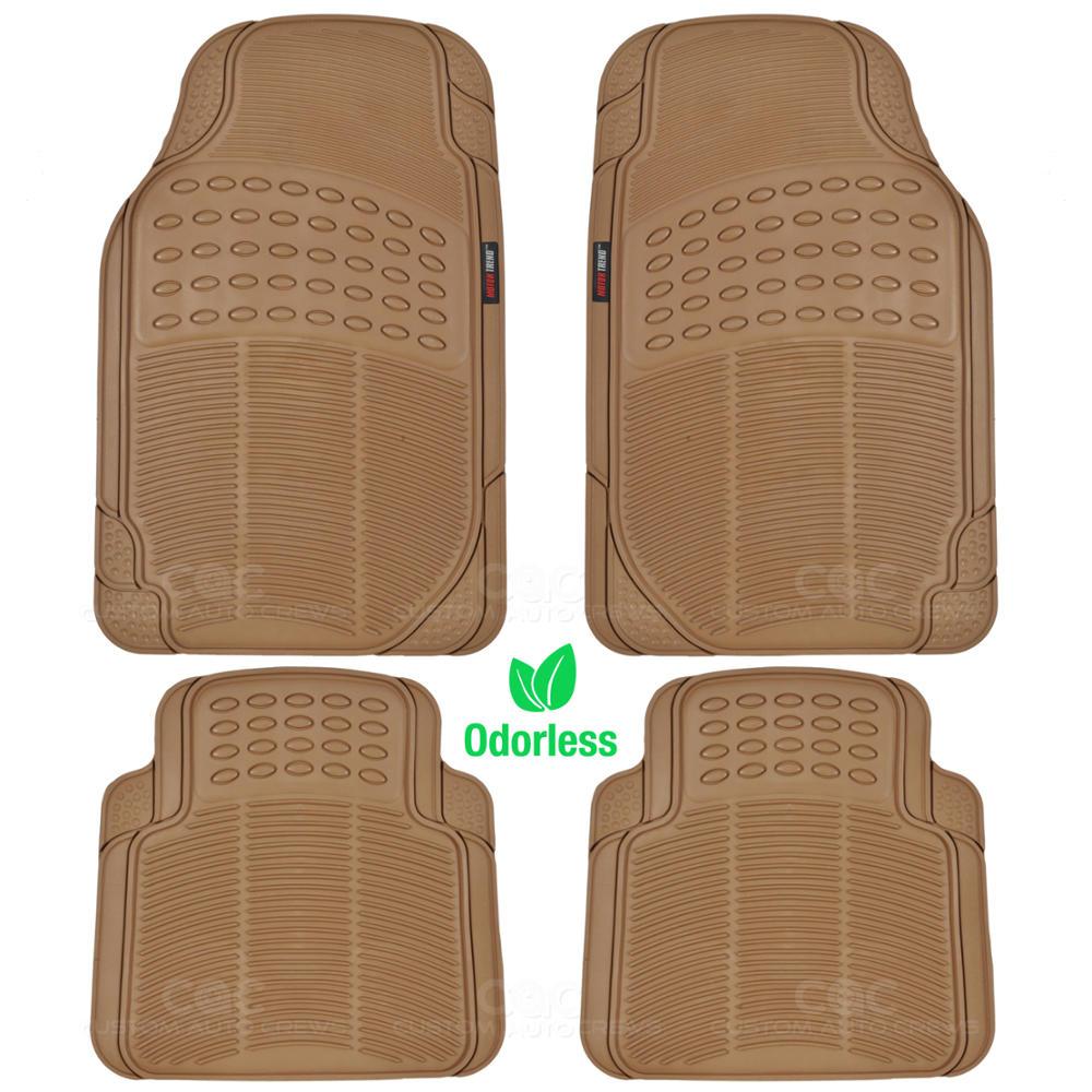 Rubber floor mats suv - Odorless Eco Tech Rubber Floor Mats Van Suv