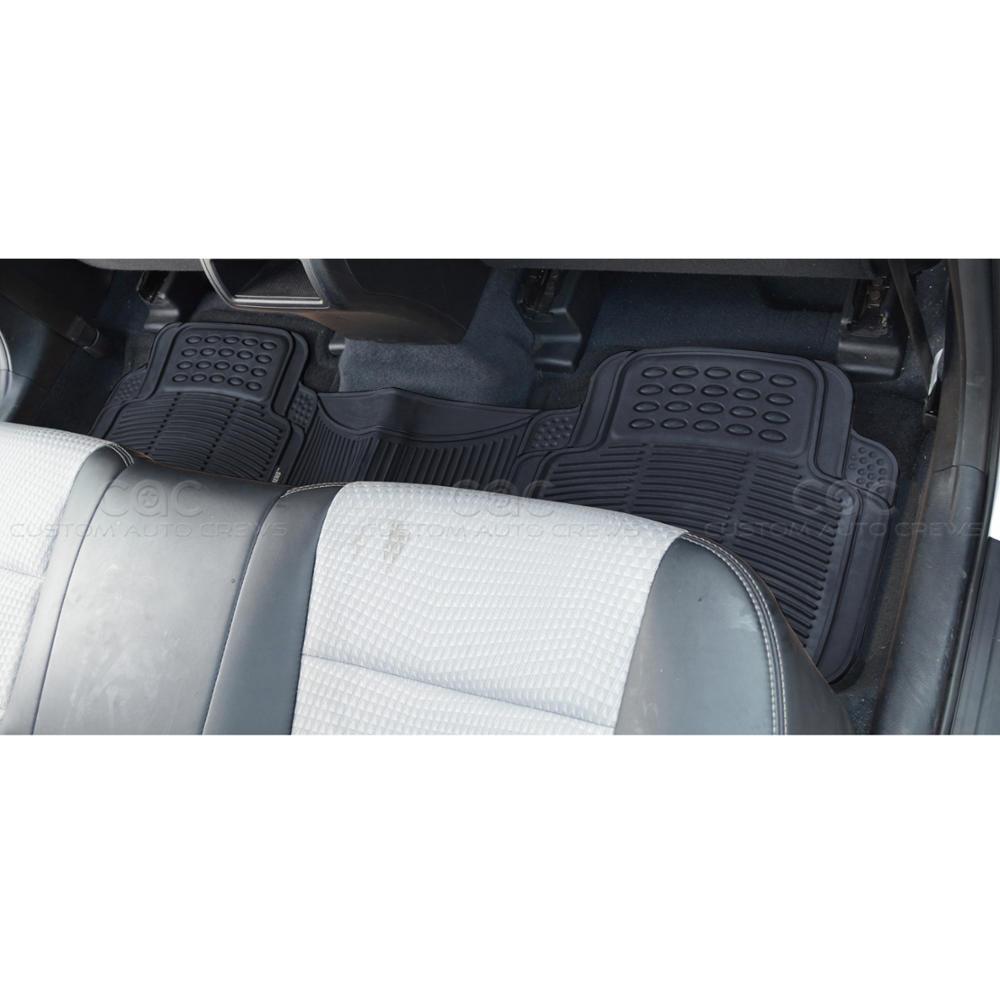 Motor trend hd eco free van truck floor mats w cargo for Motor trend floor mats review
