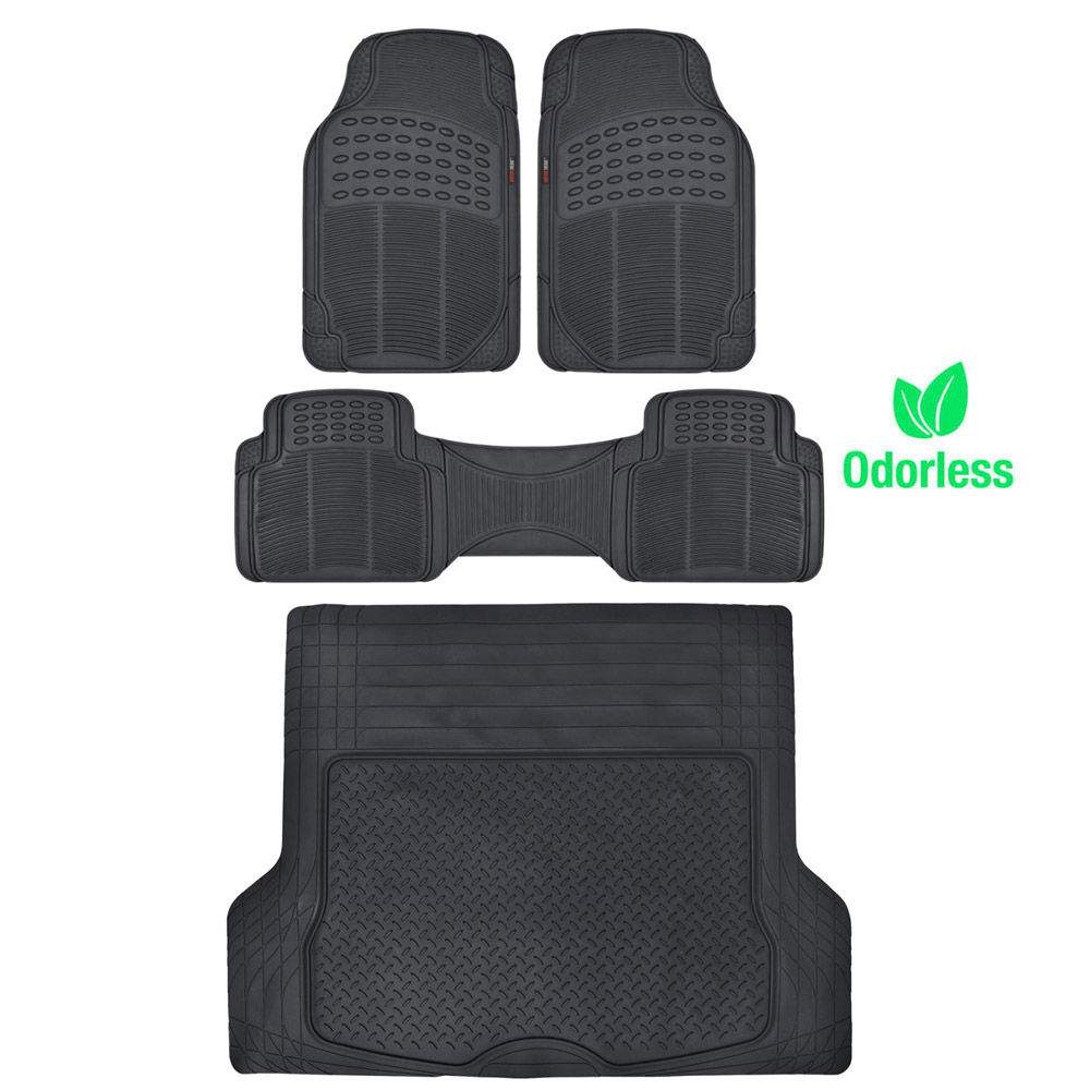 Custom Fit Flooring: Weather-Free Odorless Semi Custom Fit Floor Mats Car Truck