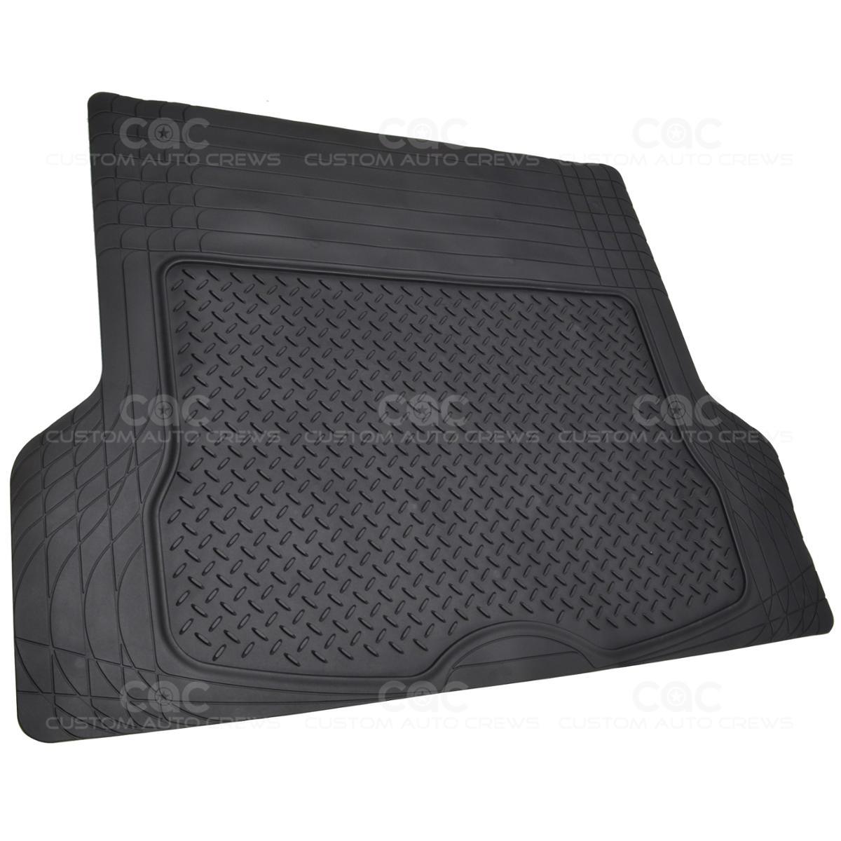 Rubber floor mats for lincoln mkx - Motor Trend Deep Dish Rubber Floor Mats Amp Cargo Set Black Premium 4 Piece Ebay