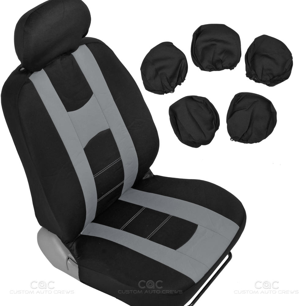 Complete Interior Set Car Seat Cover Mat Amp Steering Wheel