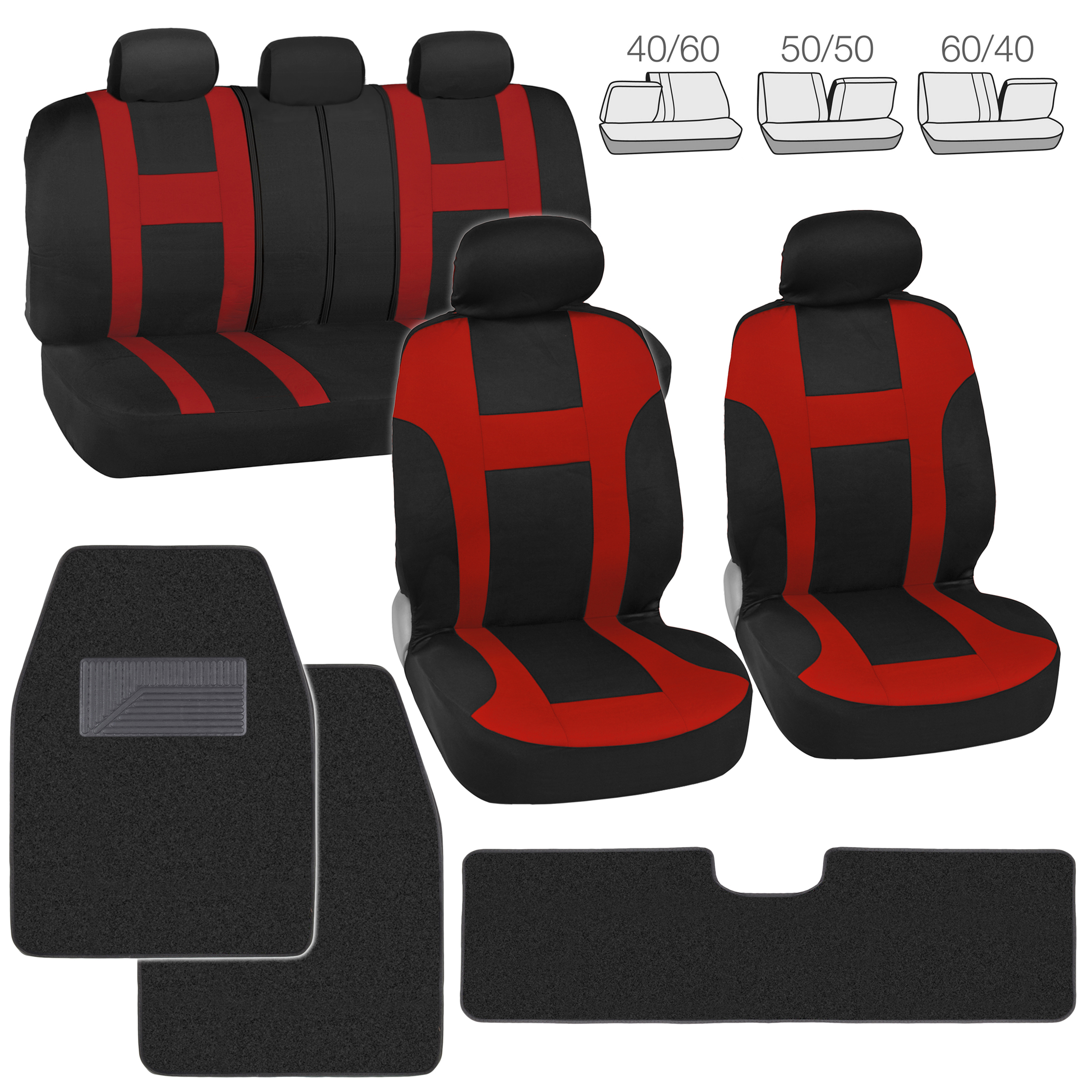 Seat Covers Complete Set For Suv