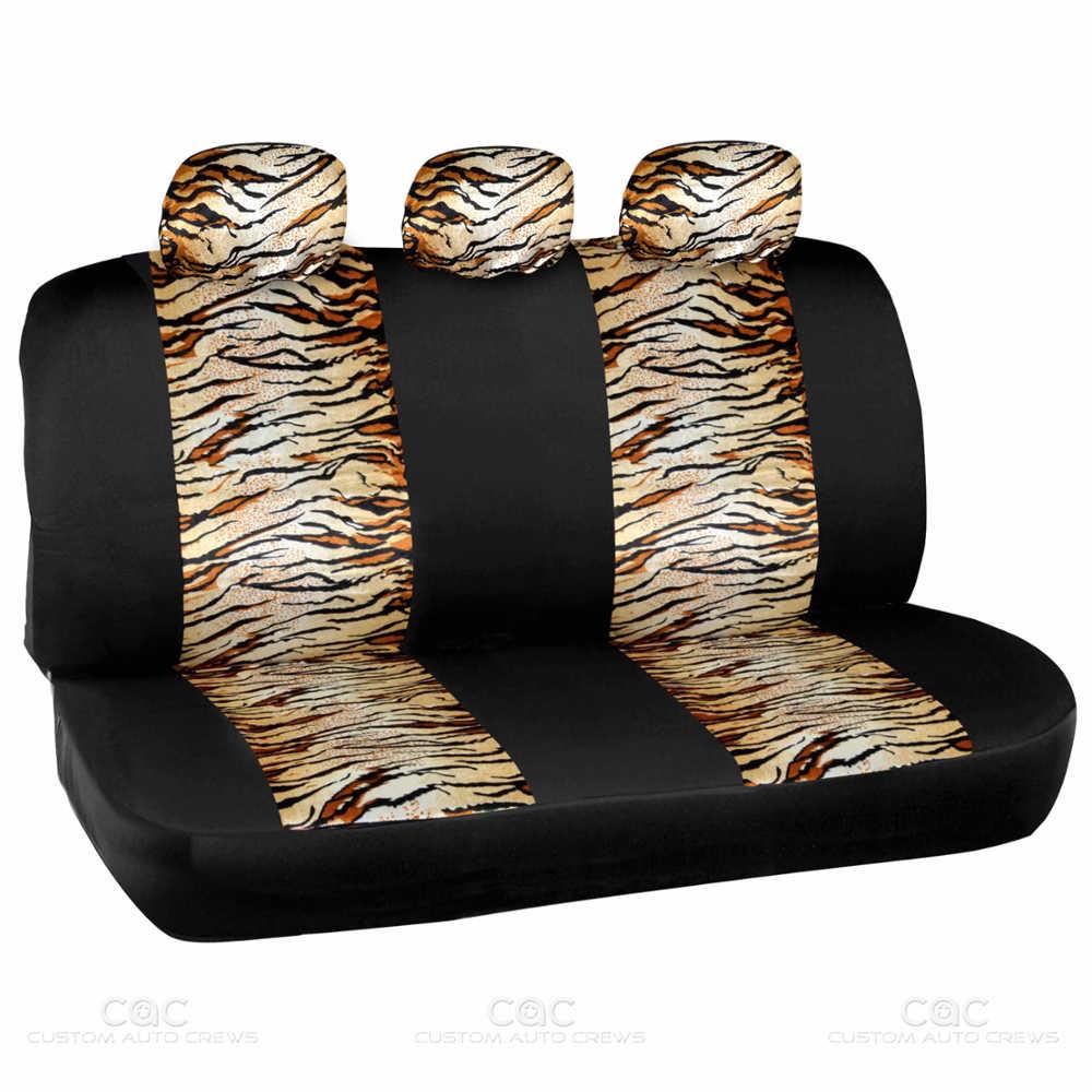 Tiger Stripe Car Seat Covers
