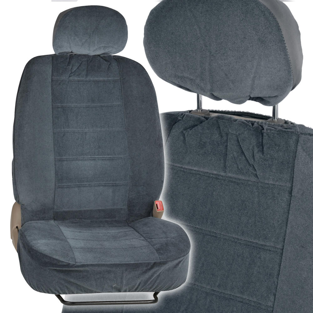 Charcoal Full Cloth Encore Style Premium Car Seat Covers
