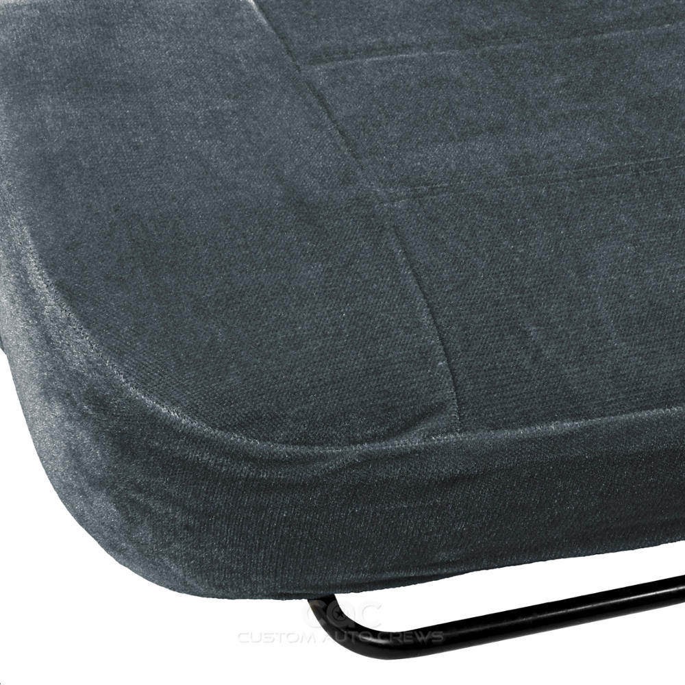 Charcoal Full Cloth High Back Auto Seat Covers Encore