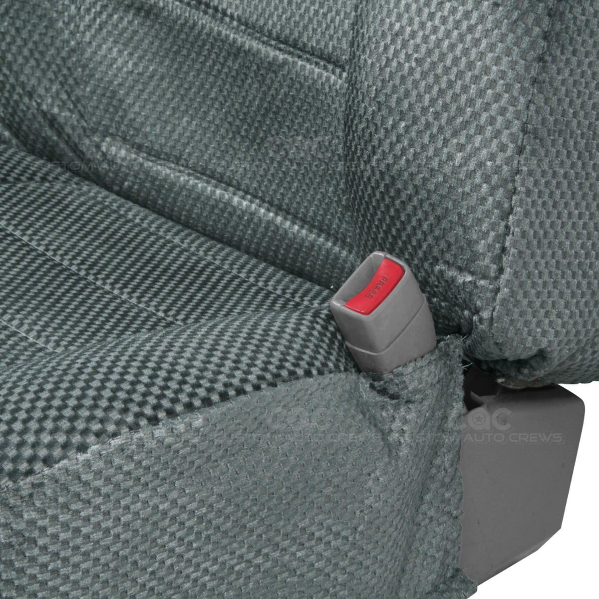 Truck Seat Covers Front Charcoal Scottsdale Built In Seat