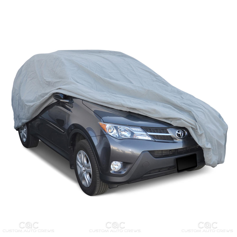 motor trend waterproof outdoor van cover for auto car suv