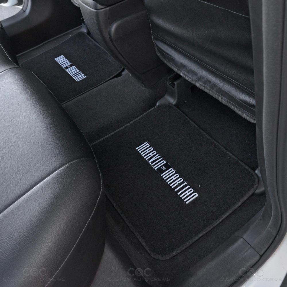Marvin Martian Car Seat Cover And Car Floor Mat