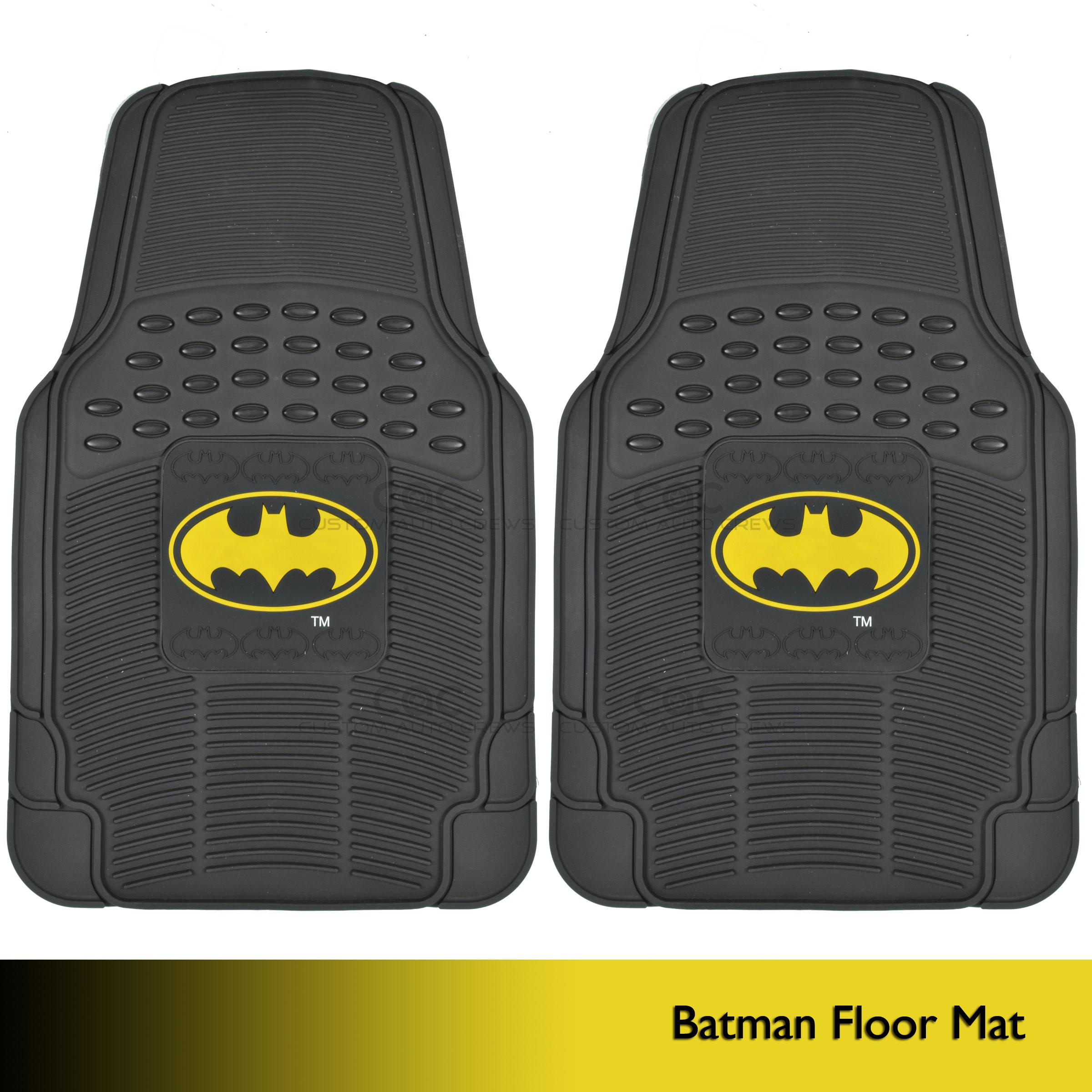Batman Rubber Vehicle Floor Mats 2017 2018 Best Cars