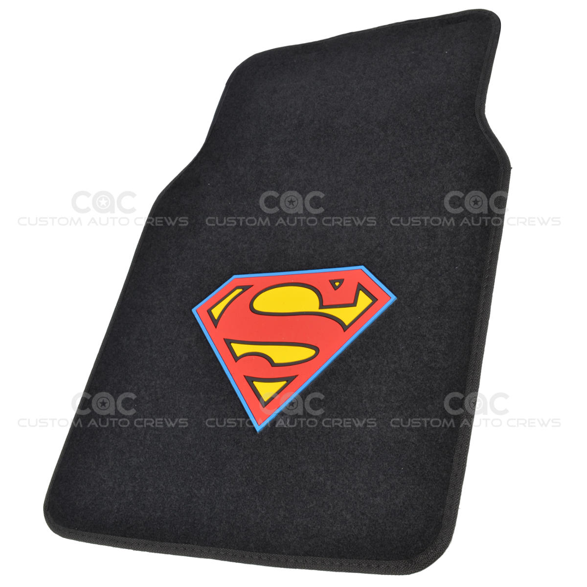 Superman Car Floor Mats 4 Pc Officially Licensed Products