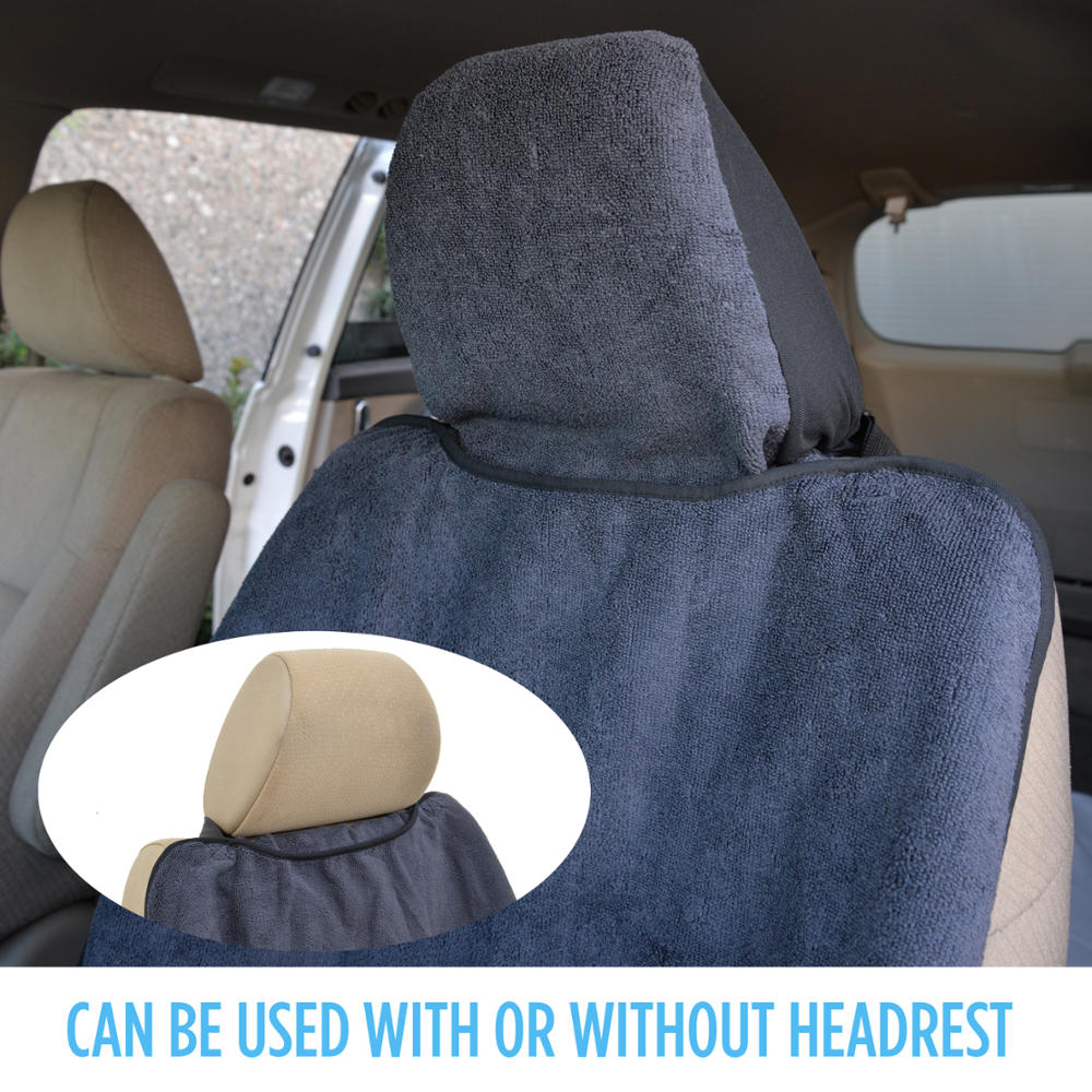 2pc car seat protectors covers absorbing sweat yoga towel outdoor gym athletes ebay. Black Bedroom Furniture Sets. Home Design Ideas