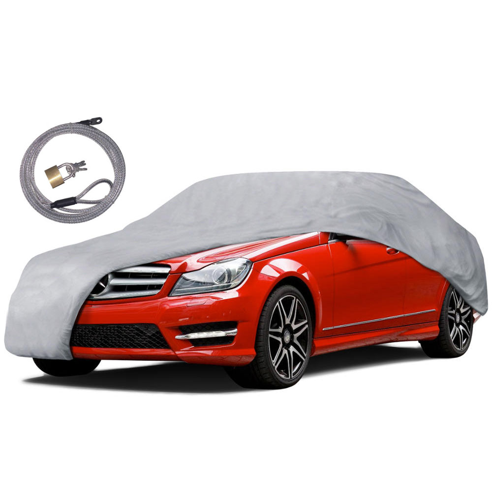 Outdoor full car cover uv snow rain water proof protection for Motor trend phone number