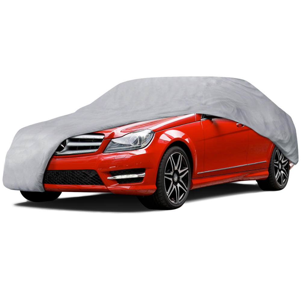 Motortrend Multi Layers Car Cover Uv Snow Rain Water Proof
