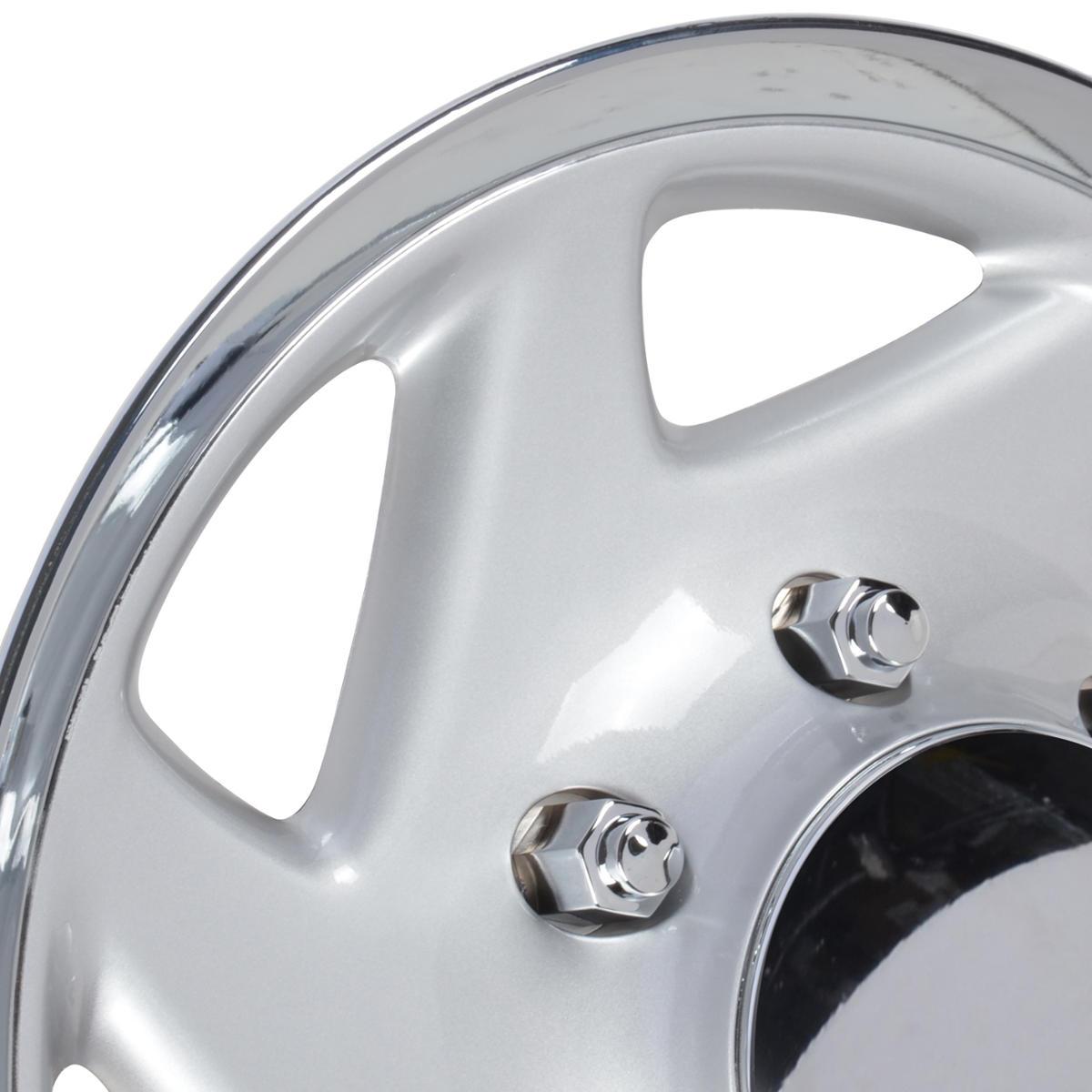 Wheel Cover Fit Ford E-250 E-350 F-250 F-350 Hubcaps 4PC
