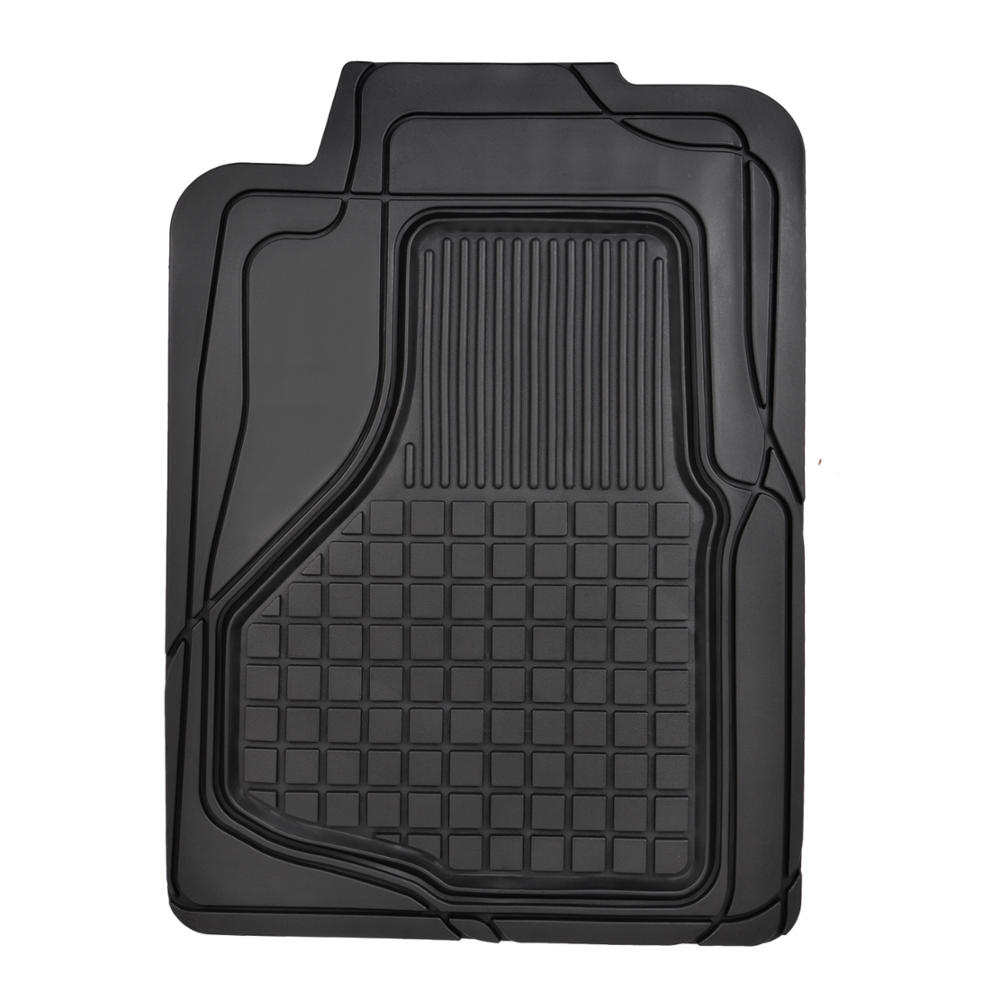 Heavy Duty Trim Fit Rubber Car Floor Mats Grid Trapping