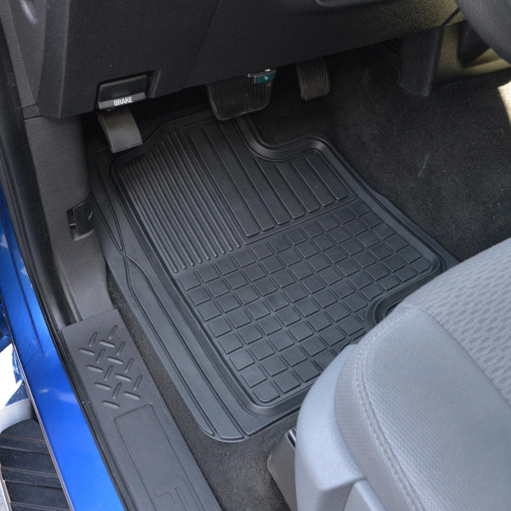 Ford F 150 Floor Mats: 3D Custom Fit Liners Heavy Duty Rubber Floor Mats For Ford