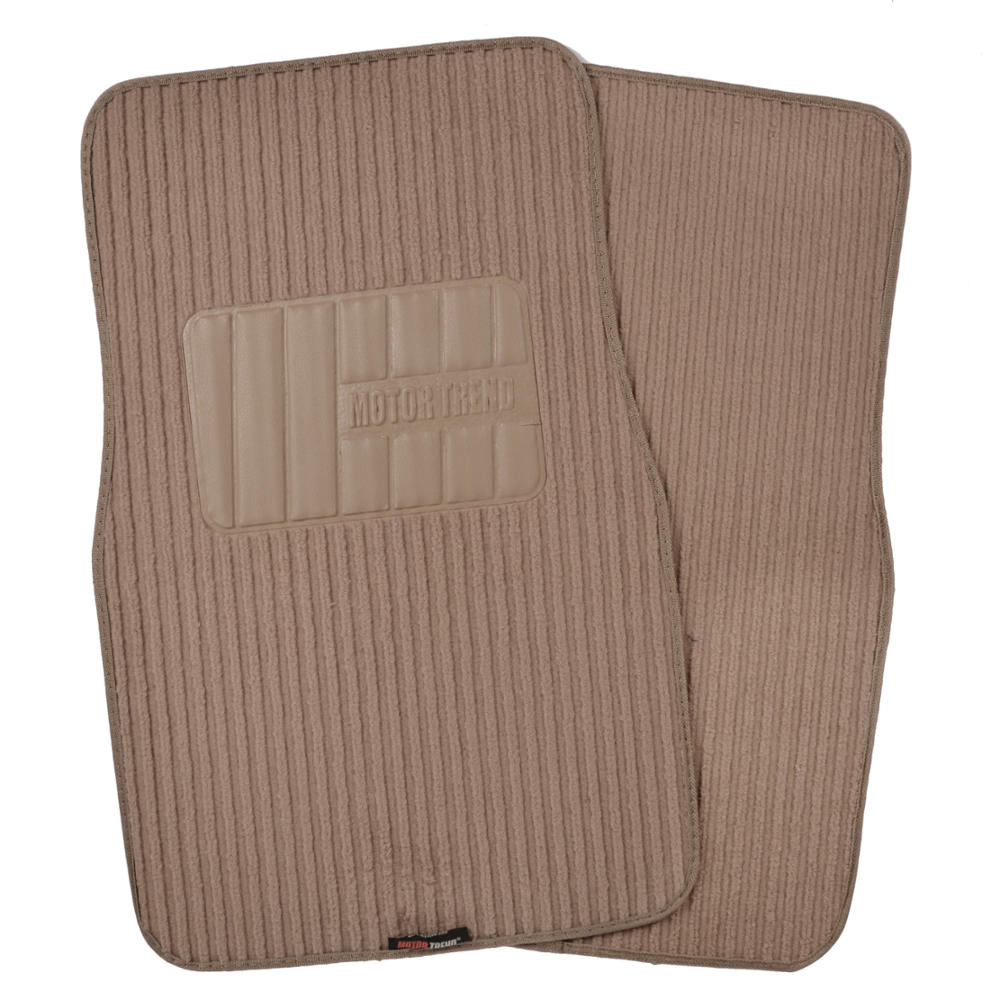 classic beige seat covers for car truck suv auto w ribbed floor mats. Black Bedroom Furniture Sets. Home Design Ideas