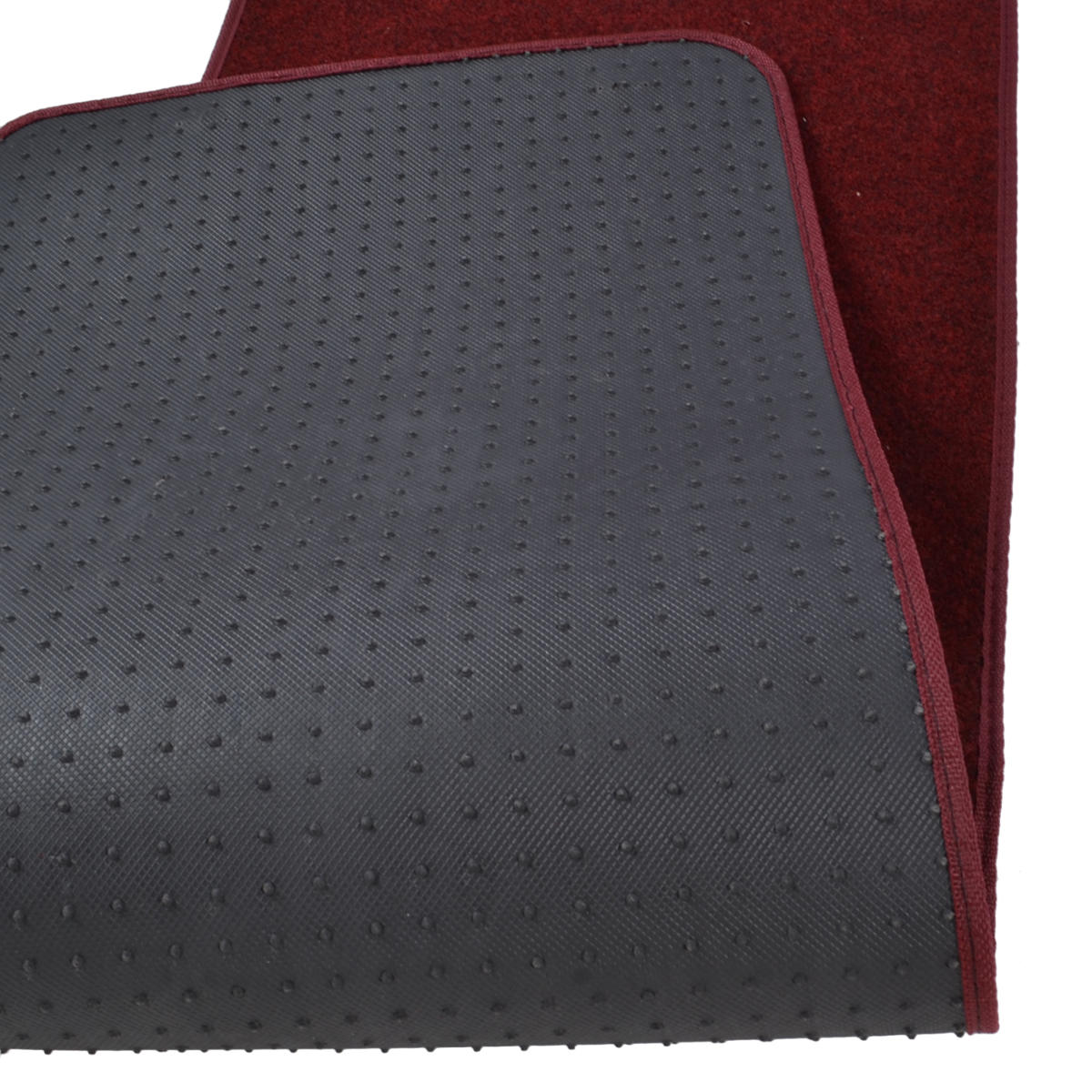 3pc set burgundy heavy duty carpet suv van pickup car floor mats front rear rug ebay. Black Bedroom Furniture Sets. Home Design Ideas