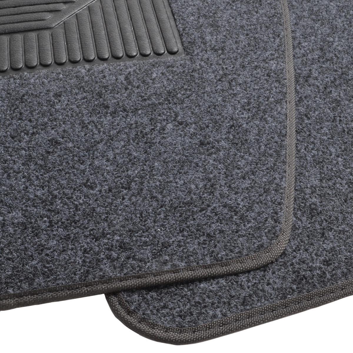 Dark Gray Carpet Car Floor Mats For Van Truck SUV