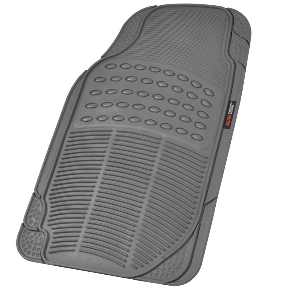 Motor trend eco tech car floor mats w cargo liner gray for Motor trend floor mats review