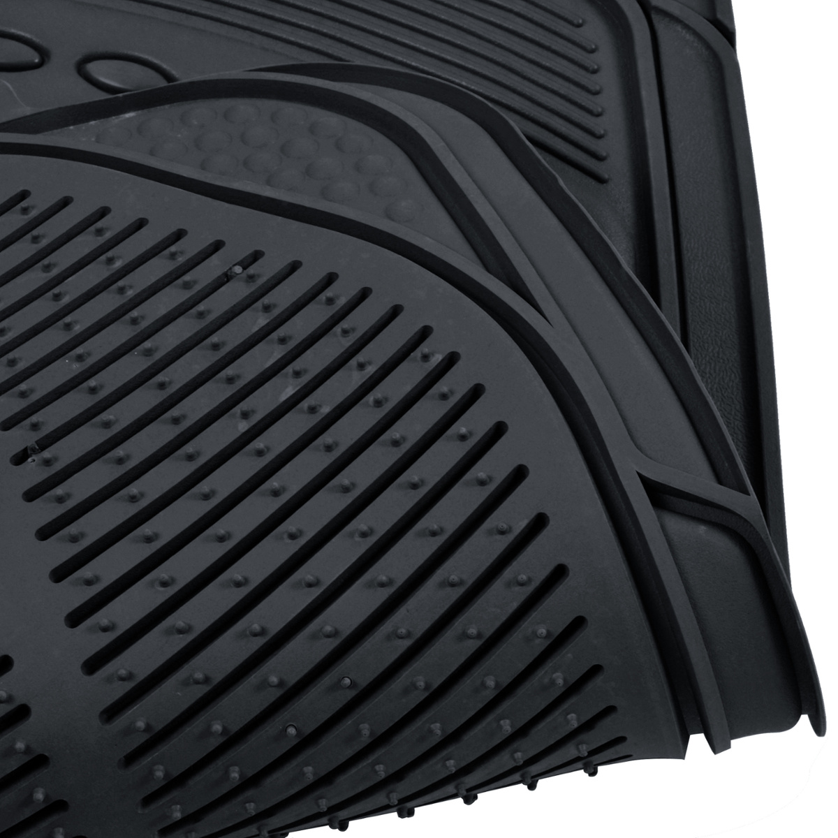 Rubber queen floor mats - Car Rubber Floor Mats Car Suv Truck Black All Weather Heavy Duty Semi