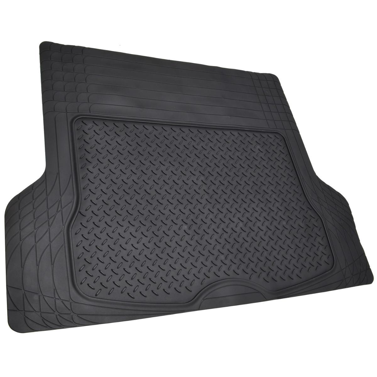 Cargo Trunk Floor Mat Liner for Car SUV Truck All Weather Semi Custom Fit Black   eBay