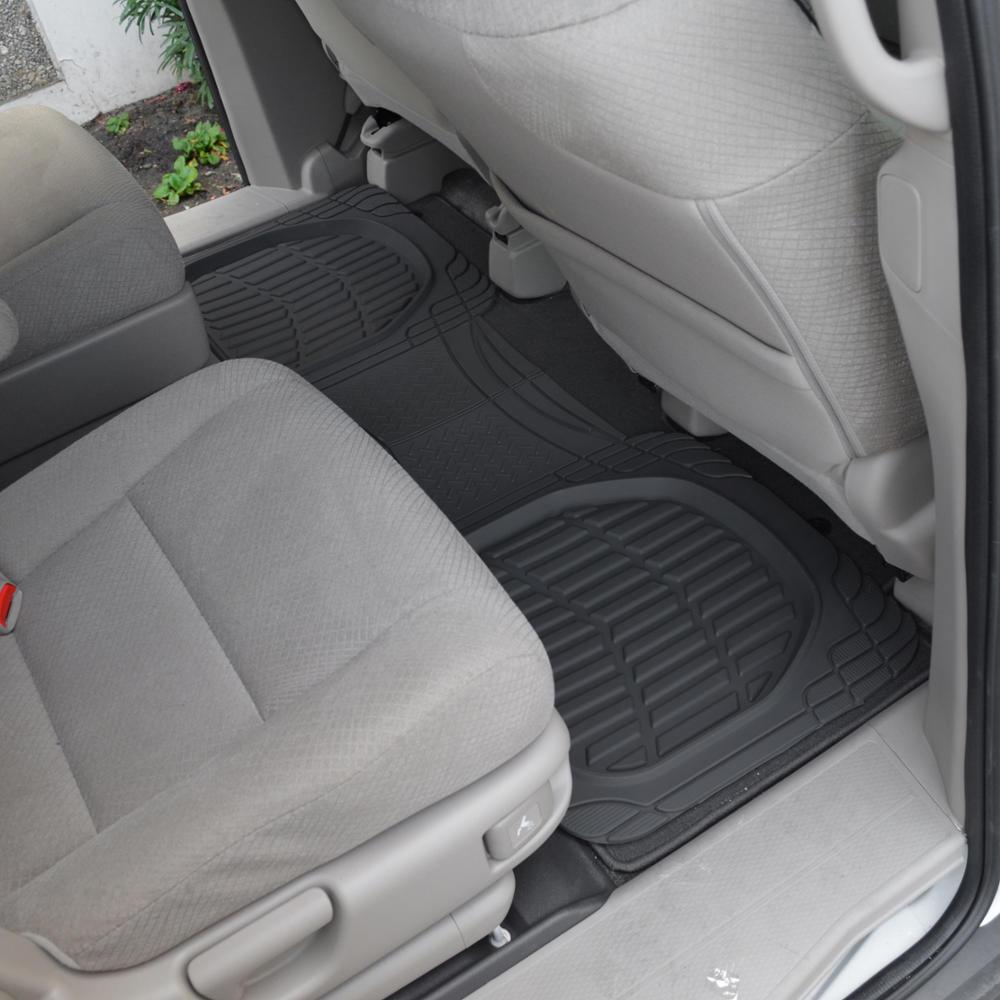 Rubber floor mats minivan - Reviews