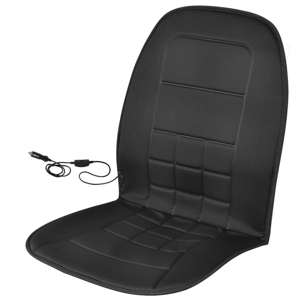 auto heated seat cushion for car truck suv van 12v warming pad for winter cold ebay. Black Bedroom Furniture Sets. Home Design Ideas