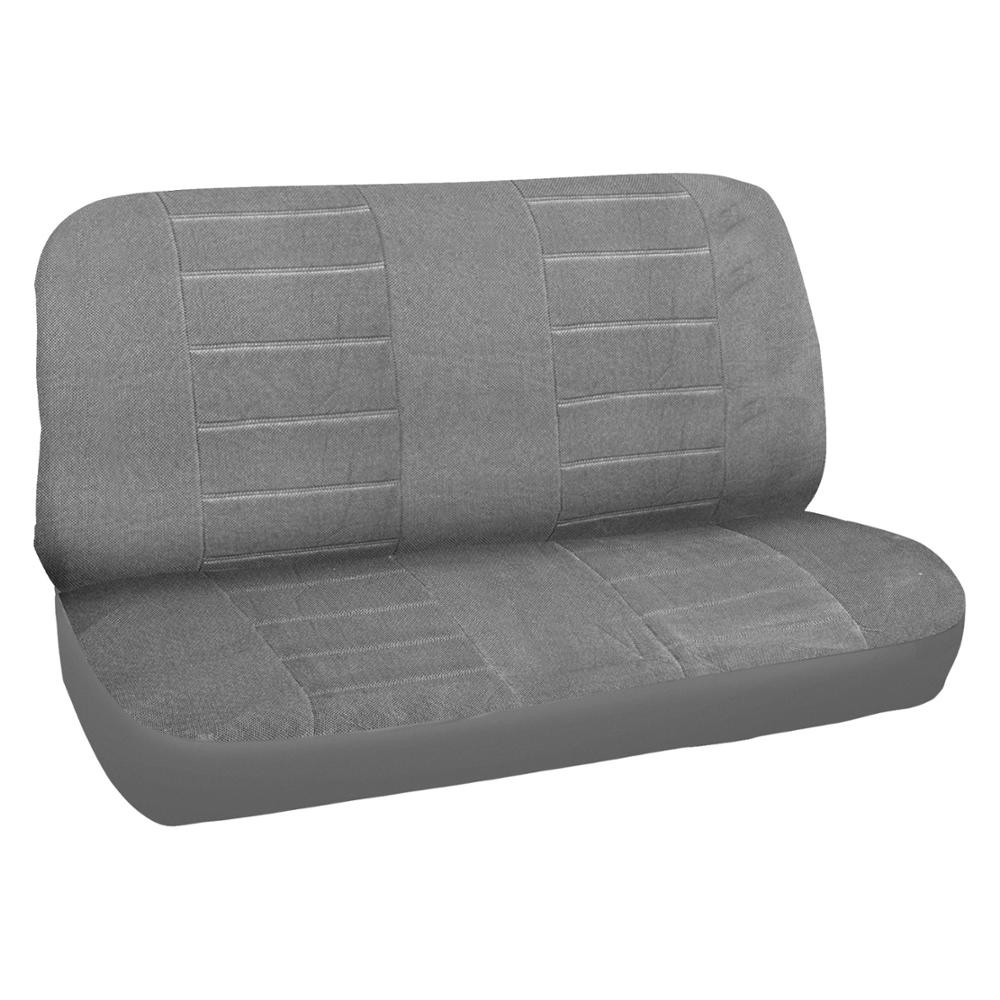 Original Gray Auto Seat Covers For Car Truck SUV Corduroy