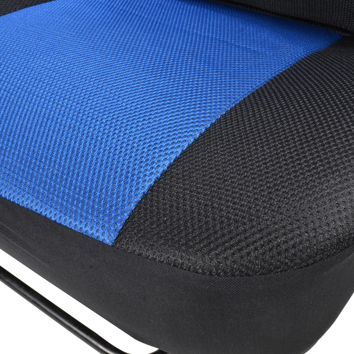 Seat Covers Black And Blue Mesh Cloth Polyester 2 Color