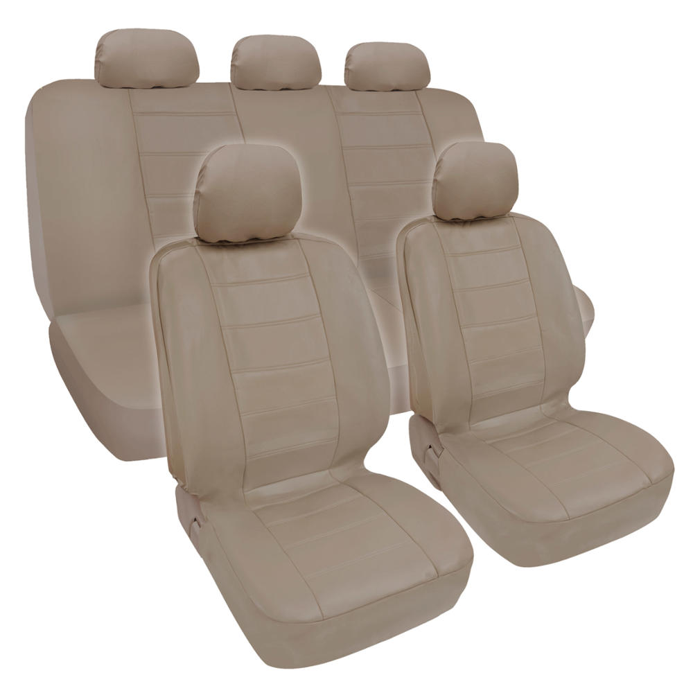 ProSyn Beige Leather Auto Seat Cover For Honda Accord
