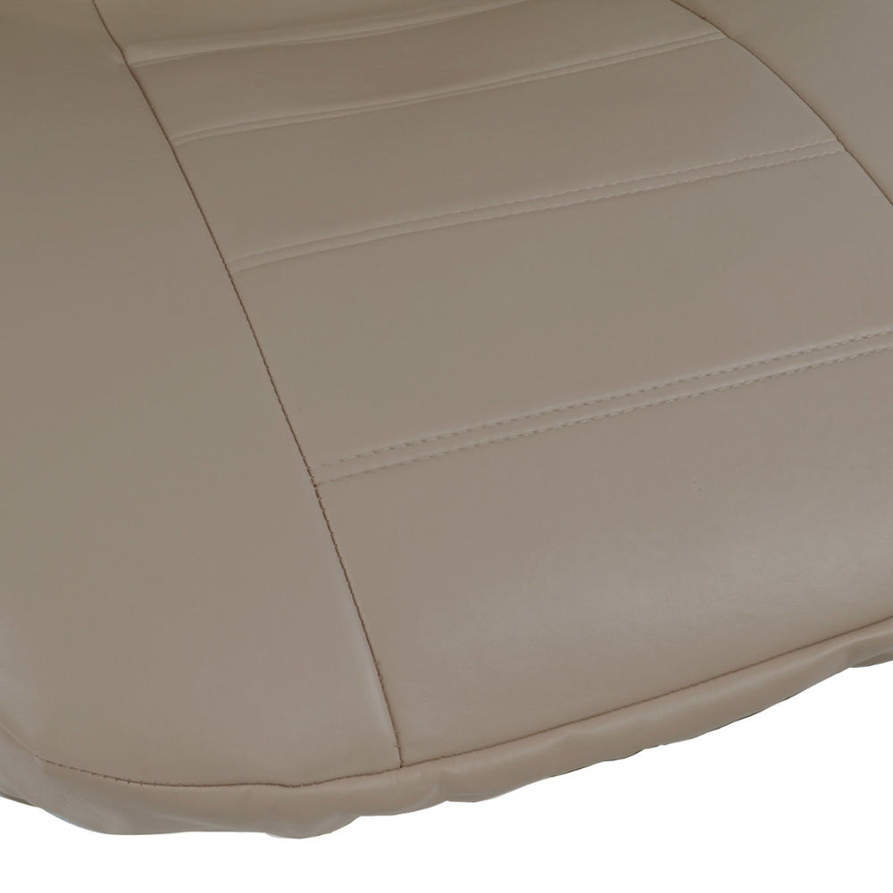 prosyn beige leather auto seat cover for chrysler 200 full set car cover ebay. Black Bedroom Furniture Sets. Home Design Ideas
