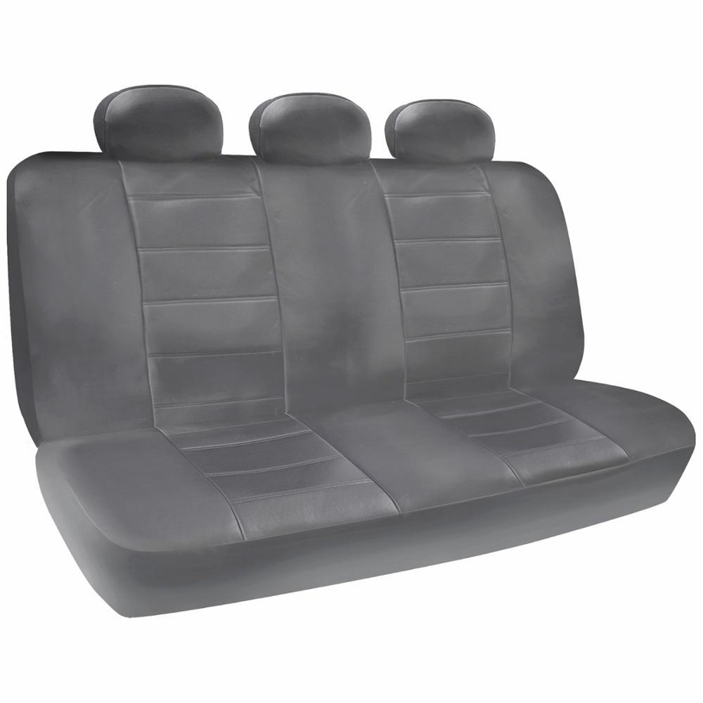 Van SUV Seat Covers 3 Row PU Leather Side ArmRest Amp Airbag