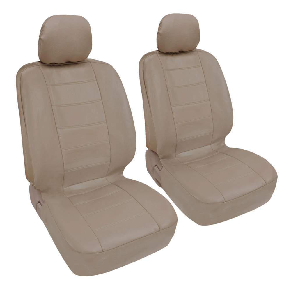 ProSynthetic Beige Leather Auto Seat Covers For Honda