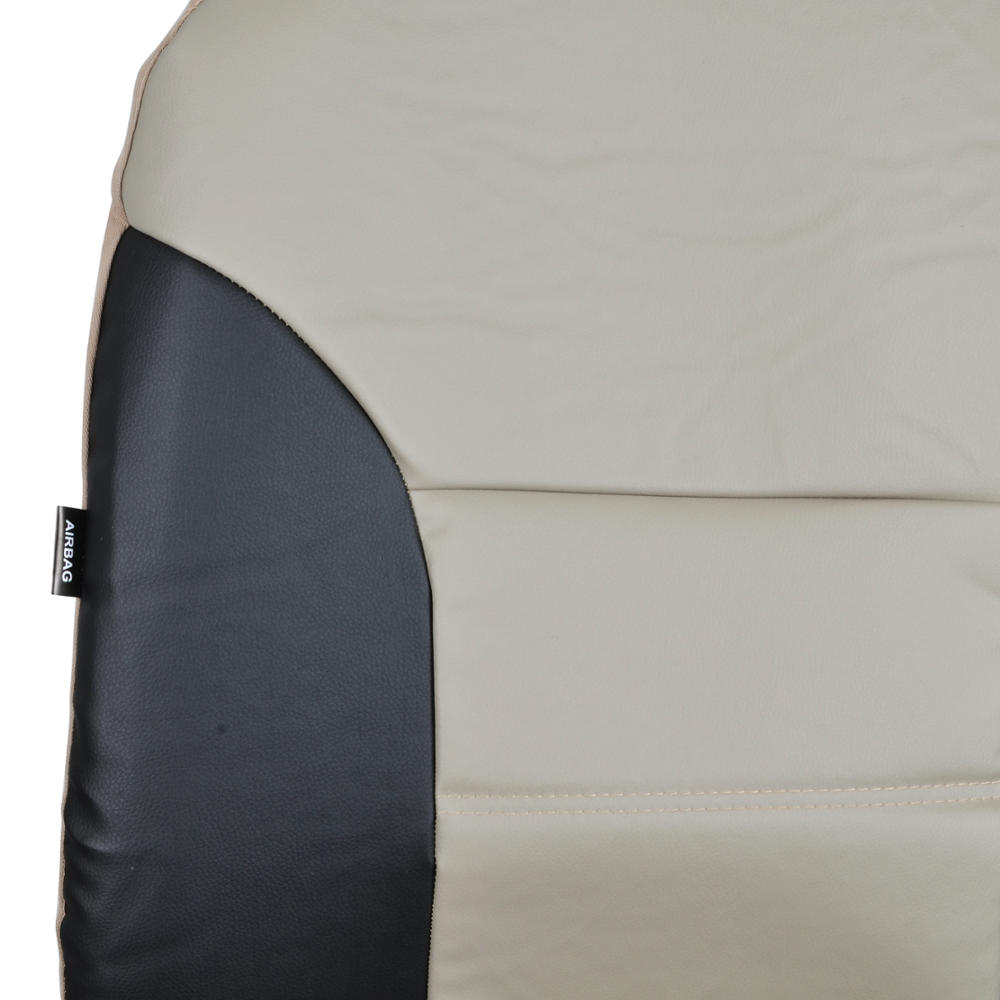 Subaru Outback Amp Limited Fitted Seat Covers Beige Black 2
