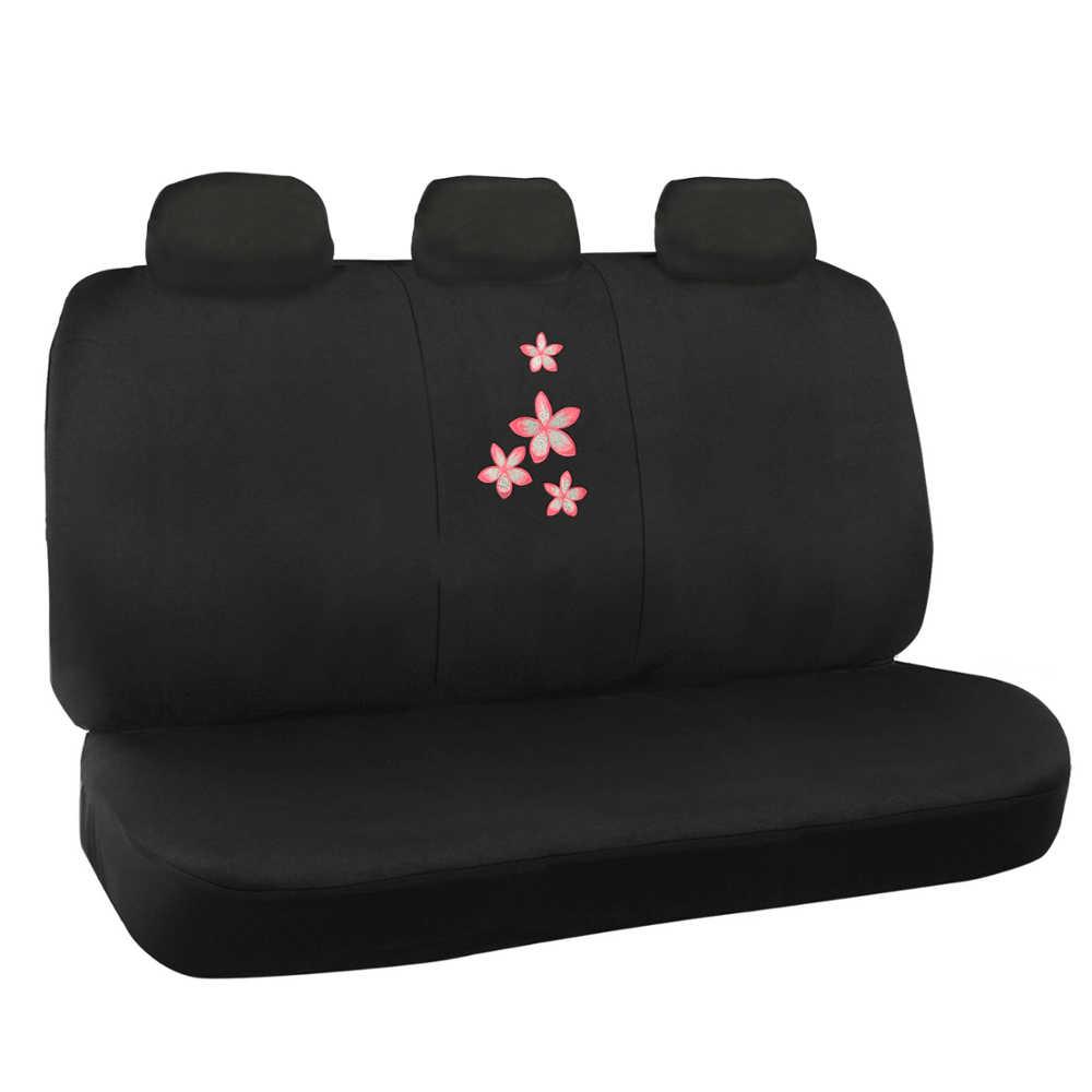 Flora Flower Car Seat Cover 9pc Logo Design