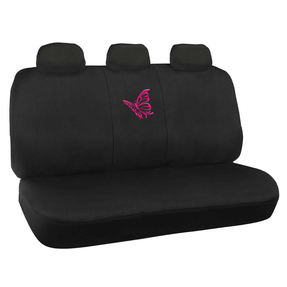 Pink Butterfly Seat Covers For Car SUV Front Amp Rear Set