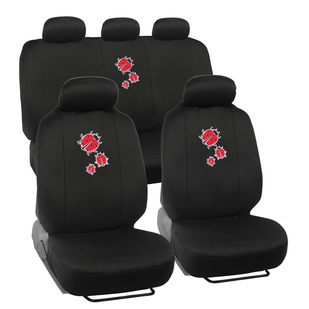 Seat Covers For Car SUV Auto Van Truck Ladybug