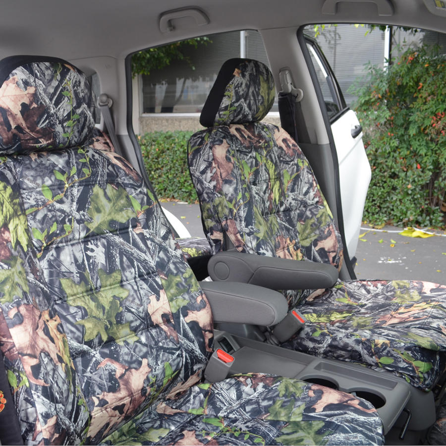 Front Camouflage Car Seat Covers For Truck Auto SUV Camo W
