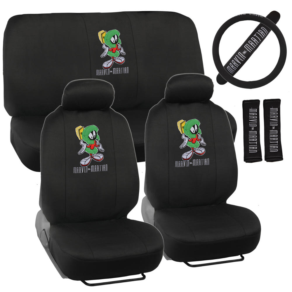 Image Is Loading Marvin The Martian Car Seat Covers 9pc Full