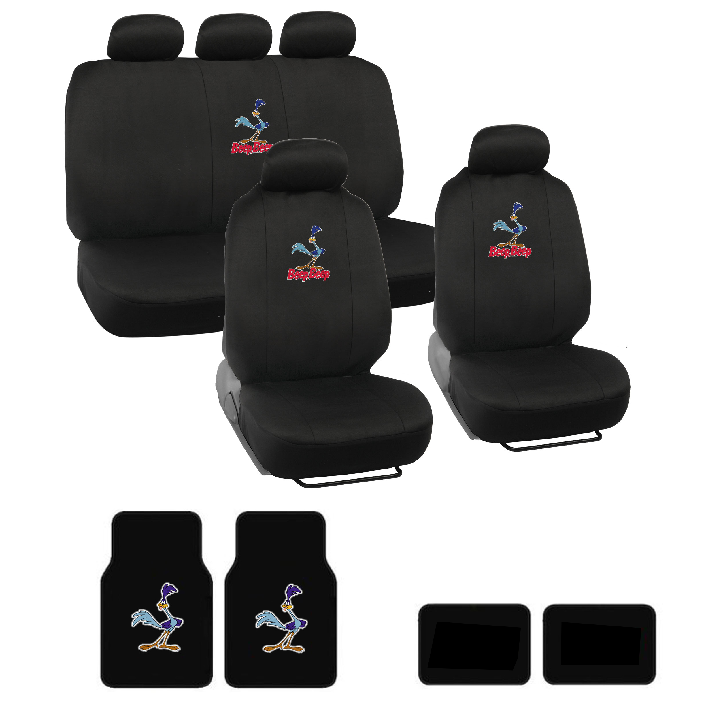 Bmw Z3 Seat Covers: Looney Tunes Road Runner Car Floor Mats And Seat Covers