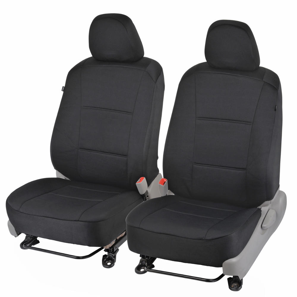 Polycloth front pair custom seat covers for 2012 toyota camry