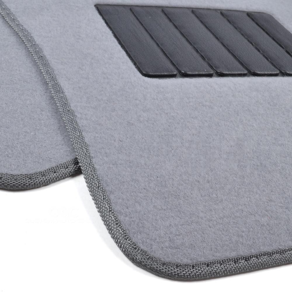 5pc Interior Floor Mats Set Front Amp Rear Light Grey