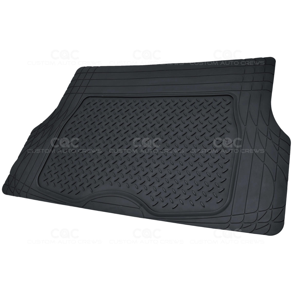 Motor Trend Flextough Heavy Duty 2 Tone Rubber Car Floor